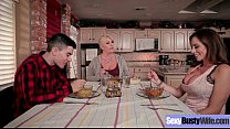 Hard Style Sex Tape With Big Jugss Hot Mommy (Ariella Ferrera) video-04
