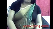 Indian hot desi aunty wearing saree webcam show sex for money (sexwap24.com)