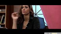 LesbianCUMS.com → Sara Luvv Lesbian Classroom Sex Reena Sky's Thumb