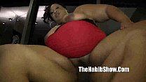 BBW cherryred banged by bbc redzilla banging th...