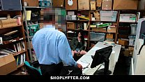 Shoplyfter - Skinny Teen Blackmailed and Stripped Down Preview