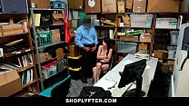Shoplyfter - Skinny Teen Blackmailed and Stripped Down preview image