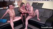 Daddy and Step Son Fuck German MILF in hard Threesome Vorschaubild