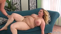 Big Boobed BBW Uses Her Body to Please a Thick ... Thumbnail