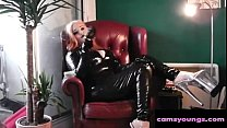 Latex and 10 Inch Heel Smoking, Free Webcam Porn Video ea