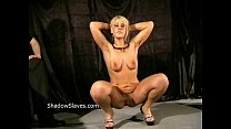 Bizarre caning to tears and hardcore spanking of crying Crystel Lei in harsh dom Vorschaubild