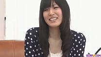 Nozomi Koizumi strips naked and gives an asian ...