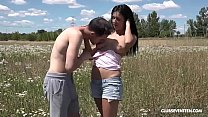The grass is greener with a hot teen fucking th... - download porn videos
