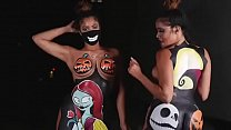 Halloween Spoof  With Models @ Thebrookstwins  Thebrookstwins