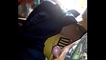 Desi Wife Enjoying In Moving Train Preview