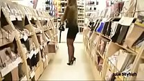 8664 Best Belgian Mon Shopping with Buttplug Heels See pt2 at goddesheelsonline.co.uk preview