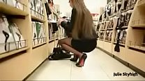 Best Belgian Mon Shopping with Buttplug Heels S... Thumbnail