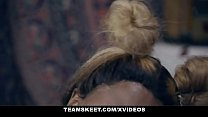 Busty Black Teen Sucks A Huge White Cock & southindiansexvideo thumbnail