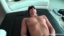 MILF gets a surprises threesome with hot 18 yr old
