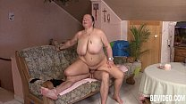 Busty german milf gets fucked preview image