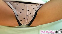 Give Me Pink In Cayenne's debut she stuffs panties up her snatch - Download mp4 XXX porn videos