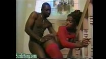 Big Tits Ebony Milf Fucked by not her Black Brother