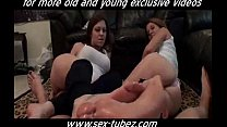 Mother Daughter's Friend Footjob, Free Porn 69: old mom porn boy porn - www.Sex-Tubez.com Thumbnail