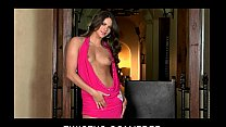Horny perky-tit babe Aspen Rae plays with her p...