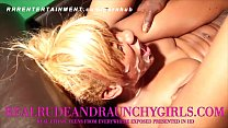 EBONY TEEN GANGBANGED IN WILD VIDEO preview image