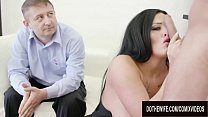Busty German Wife Ashley CumStar Shows Cuckold Hubby How Slutty She Can Be