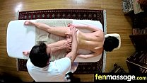 Teen massage gives stud happy ending 10
