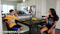 BANGBROS - Black Step Sister Maya Bijou Fucks Brother Juan El Caballo Loco video