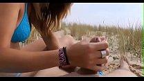 Stunning french teen having sex on the beach part 1 - for more visit nearslut.com Thumbnail