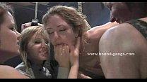 Teen russian babe tied by boyfriend