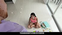ExxxtraSmall - Cute Brunette Teen Fucked Hard