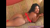 Black Cutie Pounded In Tempting Butt Hole