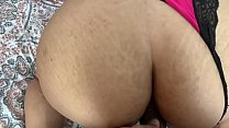 Horny Wife Begs for anal creampie thumbnail