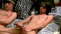 Twink sex Tyler chats a bit about where he's from before getting into