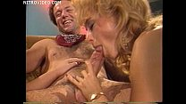Jeanna Fine and Nina Hartley both sucking a guys cock thumbnail