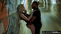 BLACKEDRAW Two Blondes Fuck Two Dominant BBCs After A Night At The Club thumbnail