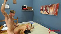 Rough anal punishment and piss facial for big ass blond صورة