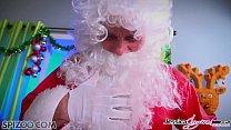 nina mercedez videos - Jessica Jaymes, Nikki Benz and Amy Anderssen fucking Santa's cock