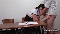 8228 French student analized by her classmates in toilet and classroom preview