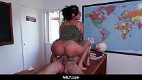 MILF - Naughty Boy Gets Punished By Hot Milf Teacher During Detention صورة