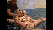 Slave Learns The Meaning Of Hard Work