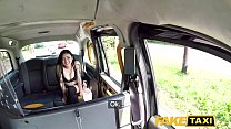 Fake Taxi Hot Japanese petite babe Rae Lil Black shows deepthroat skills preview image
