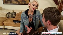 Tattooed Kleio Valentien suck and fuck a long dong's Thumb