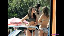 Beach Voyeur Hot Bikini Girls Topless Wicked We...