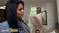 BANGBROS - Ada Sanchez Has Threesome With Her Boyfriend And Stepmom Diamond Kitty preview image