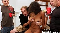 Beautiful Big Tit Teen Banged by Bukkake Geysers Vorschaubild