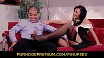 VIP SEX VAULT - Steamy pinup fuck with beautiful Hungarian brunette babe Denise Sky Preview