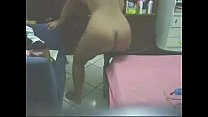 See what my mom is doing in her bed room. Great hidden cam preview image