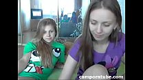 Teen lesbians on webcam preview image