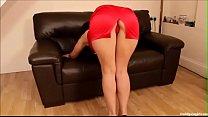 red dress big butt