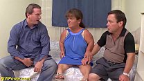 mature midget first threesome preview image